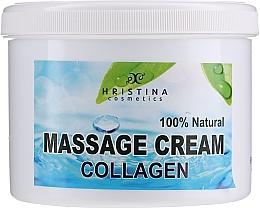 Düfte, Parfümerie und Kosmetik Krem do masażu twarzy i ciała - Hristina Cosmetics Collagen Massage Cream