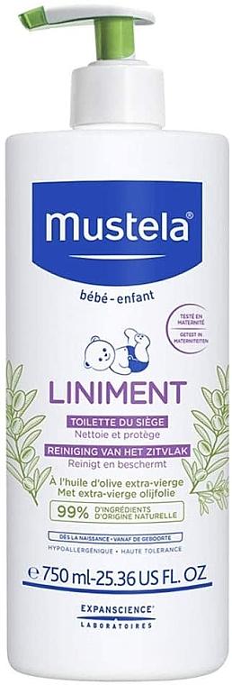 Reinigungsmilch mit Olivenöl - Mustela Bebe Liniment