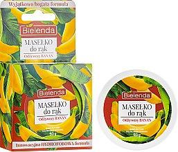 Düfte, Parfümerie und Kosmetik Pflegende Handbutter mit Bananenextrakt - Bielenda Hand Butter Nourishing Banana
