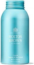 Düfte, Parfümerie und Kosmetik Molton Brown Coastal Cypress & Sea Fennel Bath Salts - Badesalz Zypresse & Meerfenchel