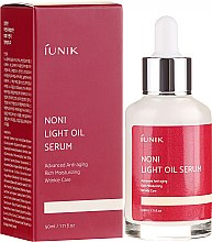Düfte, Parfümerie und Kosmetik Mildes Ölserum für das Gesicht - iUNIK Noni Light Oil Serum