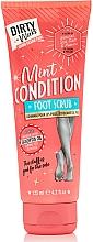 Düfte, Parfümerie und Kosmetik Fußpeeling mit Minzduft - Dirty Works Mint Condition Foot Scrub