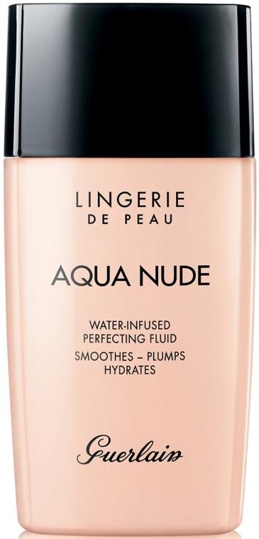 Leichte feuchtigkeitsspendende Foundation - Guerlain Lingerie de Peau Aqua Nude