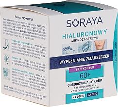 Düfte, Parfümerie und Kosmetik Regenerierende Tages- und Nachtcreme mit transdermaler Hyaluronsäure 60+ - Soraya Hialuronowy Mikrozastrzyk Restorative Cream 60+