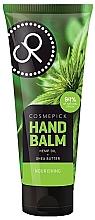Düfte, Parfümerie und Kosmetik Nährender Handbalsam mit Hanföl und Sheabutter - Cosmepick Hand Balm Hemp Oil&Shea Butter