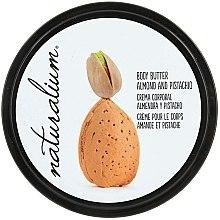 Düfte, Parfümerie und Kosmetik Pflegende Körperbutter mit Mandeln und Pistazien - Naturalium Body Butter Almond And Pistachio