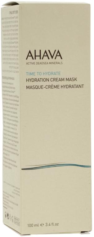 Feuchtigkeitsspendende Creme-Maske für das Gesicht mit Mineralien aus dem Toten Meer - Ahava Time to Hydrate Hydration Cream Mask