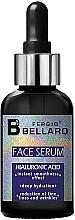 Düfte, Parfümerie und Kosmetik Feuchtigkeitsspendendes Anti-Falten Gesichtsserum mit Hyaluronsäure - Fergio Bellaro Face Serum Hyaluronic Acid