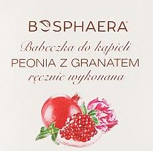 Düfte, Parfümerie und Kosmetik Badebombe Pfingstrose mit Granatapfel - Bosphaera