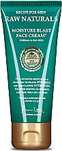 Düfte, Parfümerie und Kosmetik Feuchtigkeitsspendende Gesichtscreme mit Kokosnuss-, Hafer- und Olivenöl - Recipe For Men RAW Naturals Moisture Blast Face Cream