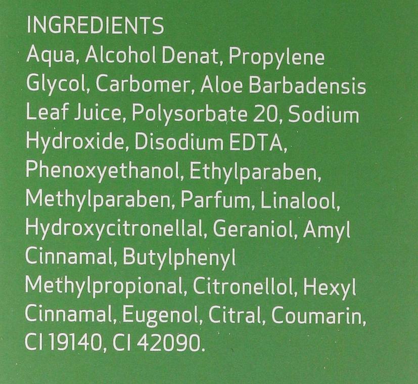 Feuchtigkeitsspendendes, beruhigendes und regenerierendes Gesichts- und Körpergel mit Aloe Vera - SesDerma Laboratories Hidraloe Aloe Gel — Bild N4