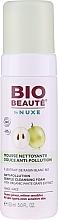 Düfte, Parfümerie und Kosmetik Mizellen-Reinigungswasser gegen Luftverschmutzung mit Bio weißem Traubenextrakt - Nuxe Bio Beaute Anti-Pollution Cleansing Foam