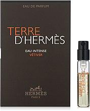 Düfte, Parfümerie und Kosmetik Hermes Terre D'Hermes Eau Intense Vetiver - Eau de Parfum (Tester)