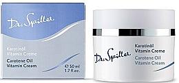 Düfte, Parfümerie und Kosmetik Gesichtscreme für trockene Haut mit Karotinöl - Dr. Spiller Carotene Oil Vitamin Cream