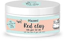 Düfte, Parfümerie und Kosmetik Reinigungsmaske für empfindliche und normale Haut - Nacomi Red Clay