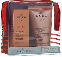 Düfte, Parfümerie und Kosmetik Sonnenschutz Pflegeset - Nuxe Sun Set Summer Protection Ritual (Sonnenschutzcreme SPF 50 50ml + Körperlotion nach dem Sonnenbad 100ml)