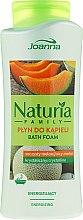 Düfte, Parfümerie und Kosmetik Erfrischender Badeschaum mit Melonenduft - Joanna Naturia Family Bath Foam Crystalline