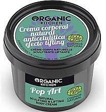 "Düfte, Parfümerie und Kosmetik Anti-Cellulite Körpercreme ""Pop Art"" - Organic Shop Organic Kitchen Pop Art Cream"