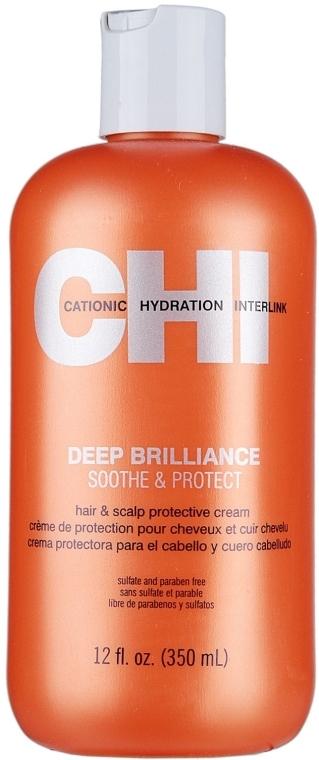 Beruhigende und schützende Haar- und Kopfhautcreme - CHI Deep Brilliance Soothe & Protect — Bild N3
