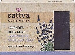 Düfte, Parfümerie und Kosmetik Sanfte Glycerinseife für den Körper Lavender - Sattva Hand Made Soap Lavender