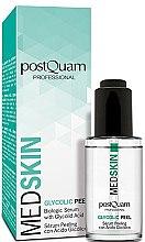 Düfte, Parfümerie und Kosmetik Peeling-Serum für das Gesicht mit Glykolsäure - PostQuam Med Skin Glycolic Peeling Serum