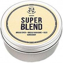 Düfte, Parfümerie und Kosmetik Körperbutter mit Shea, Kakao und Kokosnuss Super Blend - Cztery Szpaki