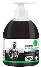 Düfte, Parfümerie und Kosmetik Flüssigseife für Männer mit Aktivkohle - Ecocera Medical Potassium Soap