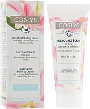 Düfte, Parfümerie und Kosmetik Gesichtscreme für normale und Mischhaut mit Lilienextrakt - Coslys Facial Care Exfoliating Facial CreamWith Lily Extract