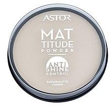 Düfte, Parfümerie und Kosmetik Gesichtspuder - Astor Mattitude Anti Shine Powder