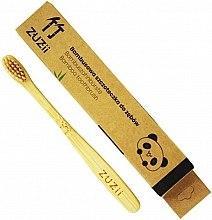 Düfte, Parfümerie und Kosmetik Bambuszahnbürste für Kinder weich beige - Zuzii Kids Soft Toothbrush