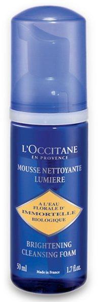 Aufhellender Gesichtsreinigungsschaum - L'Occitane Immortelle Precious Cleansing Foam — Bild N2