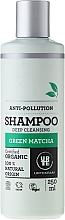 Düfte, Parfümerie und Kosmetik Tiefenreinigendes Shampoo mit Bio Matcha für alle Haartypen - Urtekram Green Matcha Shampoo
