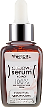 Düfte, Parfümerie und Kosmetik Beruhigendes Öl-Serum für Gesicht, Hals und Dekolleté mit Vitamin E - E-Fiore Oil Serum
