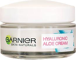 Düfte, Parfümerie und Kosmetik Pflegende und feuchtigkeitsspendende Tagescreme mit Hyaluronsäure und Aloe - Garnier Skin Naturals Hyaluronic Aloe Day Cream