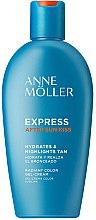 Düfte, Parfümerie und Kosmetik After Sun Gel-Creme für den Körper - Anne Moller Express After Sun Kiss