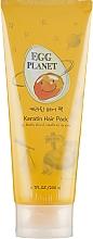 Düfte, Parfümerie und Kosmetik Keratin-Maske für strapaziertes Haar mit Ei - Daeng Gi Meo Ri Egg Planet Keratin Hair Pack