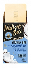 Düfte, Parfümerie und Kosmetik Seife mit Kokosöl - Nature Box Coconut Oil Shower Bar
