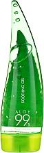 Düfte, Parfümerie und Kosmetik Beruhigendes Feuchtigkeitsgel für Gesicht, Haar und Körper mit 99% Aloe Vera - Holika Holika Aloe 99% Soothing Gel