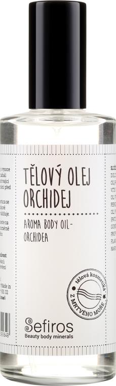 Körperöl mit Orchideenduft - Sefiros Aroma Body Oil Cream Orchidea