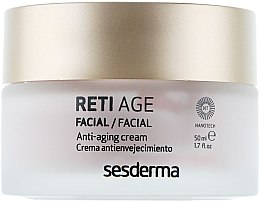 Anti-Aging Gesichtscreme mit 3-Retinol-System - SesDerma Laboratories Reti Age Facial Antiaging Cream 3-Retinol System — Bild N2