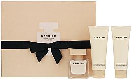 Düfte, Parfümerie und Kosmetik Narciso Rodriguez Narciso Poudree - Duftset (Eau de Parfum 50ml + Körperlotion 75ml + Duschgel 75ml)