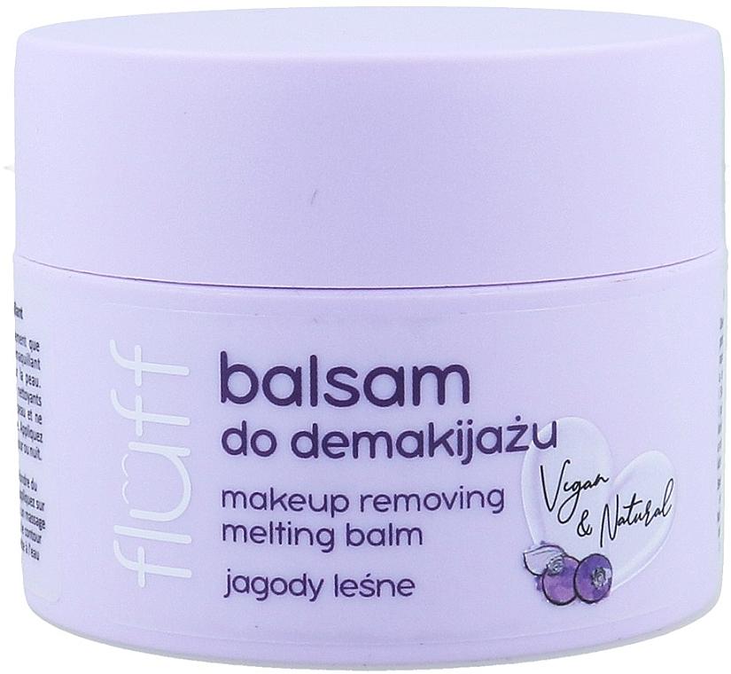 Make-up Entferner mit wilden Blaubeeren - Fluff Makeup Remover Balm Wild Blueberries