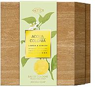 Düfte, Parfümerie und Kosmetik Maurer & Wirtz 4711 Aqua Colognia Lemon & Ginger - Duftset (Eau de Cologne 170ml + Seife 100g)