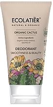 Düfte, Parfümerie und Kosmetik Deocreme mit Kaktus-Extrakt und Opuntia-Öl - Ecolatier Organic Cactus Deodorant