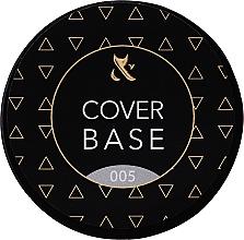 Düfte, Parfümerie und Kosmetik UV/LED Gel Nagelunterlack mit Camouflage-Effekt - F.O.X Cover Base (Dose)