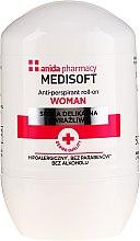Düfte, Parfümerie und Kosmetik Antitranspirant - Anida Pharmacy Medisoft Woman Deo Roll-On