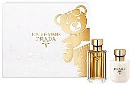 Düfte, Parfümerie und Kosmetik Prada La Femme Prada - Duftset (Eau de Parfum/50ml + Körperlotion/100ml)