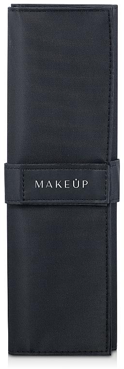 Make-up Etui für 7 Pinsel Basic schwarz - Makeup