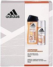 Düfte, Parfümerie und Kosmetik Körperpflegeset - Adidas Adipower Women (Duschgel 250ml + Deospray 150ml)