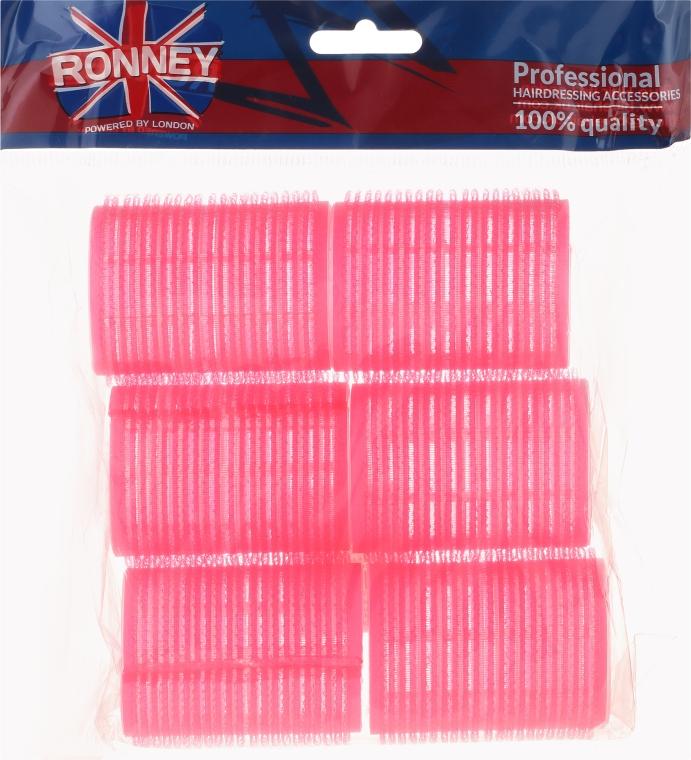 Klettwickler 44/63 mm rosa 6 St. - Ronney Professional Velcro Roller